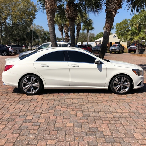Pre-Owned 2015 Mercedes-Benz CLA 4DR SDN CLA250 FW