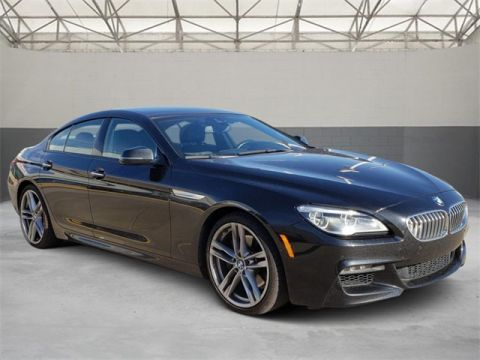 Pre-Owned 2017 BMW 6 Series 650i Gran Coupe