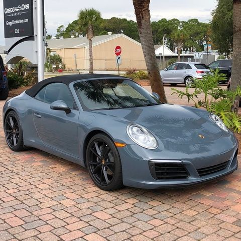Certified Pre-Owned 2018 Porsche 911 Carrera Convertible
