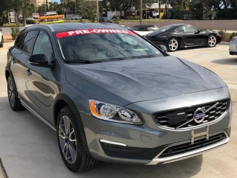 Pre-Owned 2018 Volvo V60 Cross Country T5 4DR WGN T5 AWD