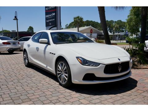 Pre-Owned 2016 Maserati Ghibli North America specification S